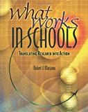 img - for What Works in Schools: Translating Research Into Action by Marzano, Robert J. (2003) Paperback book / textbook / text book
