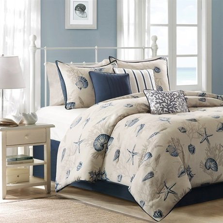 Coral Bedding Queen 6050 front