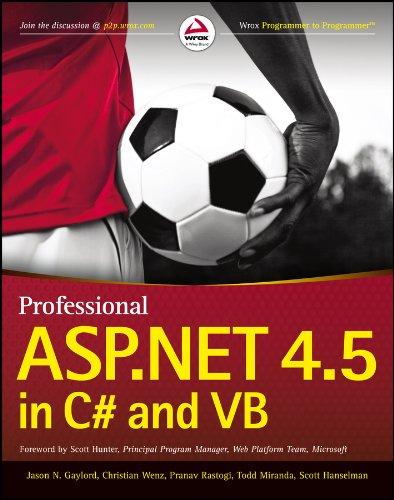 ASP.NET 4.5 in C# and VB