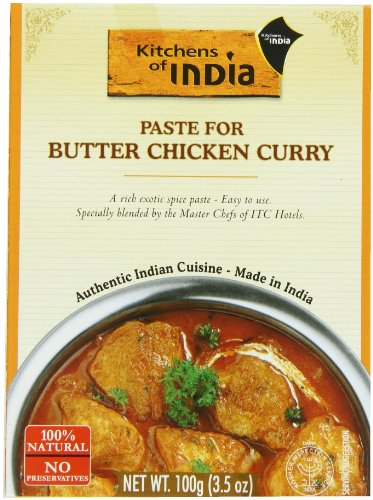 Kitchens Of India Paste For Butter Chicken Curry 6 Pack USA