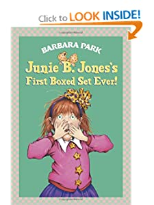 Junie B. Jones's First Boxed Set Ever! (Books 1-4) by Barbara Park and Denise Brunkus