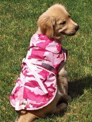 Zack & Zoey Camo Companion Dog Jacket