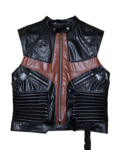 Hot Favourite The Avengers Hawkeye Leather Vest Cosplay Costume