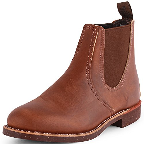 Red Wing Chelsea Rancher Mens Leather Chelsea Boots Brown 9 Us
