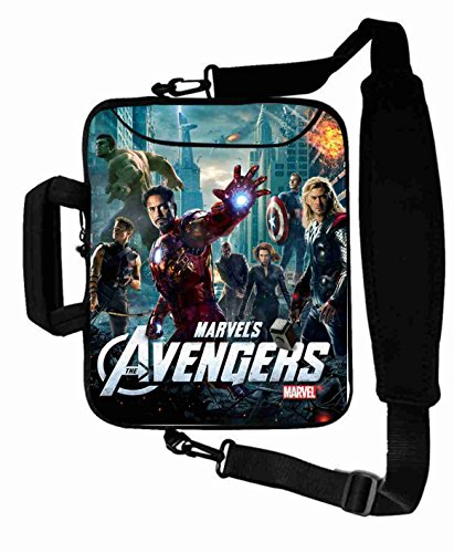 "Protection Customized Series the avengers movie Laptop Bag Suitalbe Women's (10 Inch) For 9.7""iPad Air 2-iPad 1 2 3 4 5-Samsung Galaxy Tab 3 S T700-Note 10.1-Tab PRO-Google Nexus 10 - CB-10-5633"
