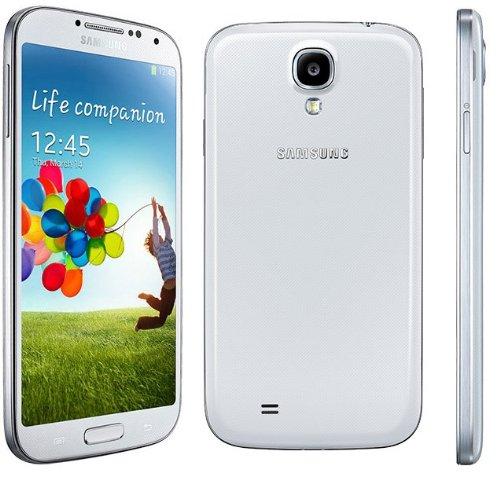 Samsung Galaxy S4 White i9500 16GB Factory Unlocked International Version- WHITE