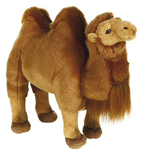 National Geographic Stuffed Animals Hand Puppet (1 Piece), Camel Bactrian