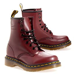 Dr. Martens Women\'s 1460 8-Eye Boot 7 Red