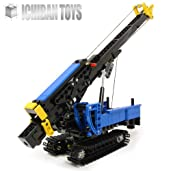Pile Driving Rig - Custom LEGO Element Kit