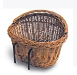 Basil wicker basket Detroit Front Handlebar Basket