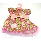 Baby Annabell Dress Collection (GREEN & PINK)