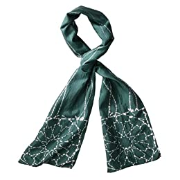 Global Girlfriend Fall Bloom Silk Scarf