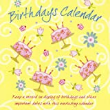 Everlasting Birthday Flowers And Cakes Perpetual Calendar
