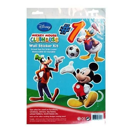 1 X Mickey Mouse Wall Sticker Kit