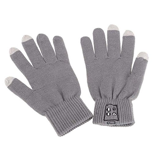 Bluetooth Winter Calling Talking Gloves Hand Gesture Touch Screen Speaker G