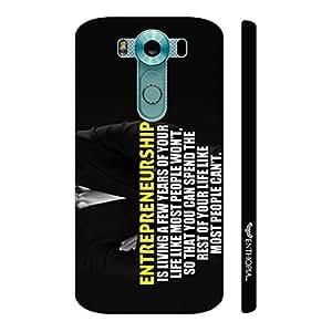 Enthopia Designer Hardshell Case True Entrepreneur Back Cover for LG V10