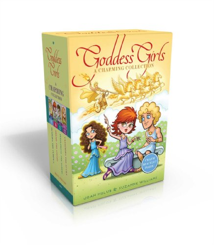 The Goddess Girls Charming Collection Books 9-12 [With Charm Bracelet]