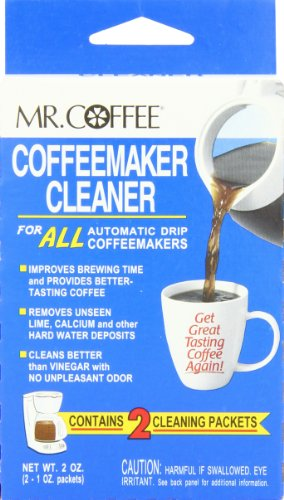 Mr. Coffee Coffeemaker Cleaner for All Automatic Drip Coffeemakers, 2-Ounce Box (Pack of 9)