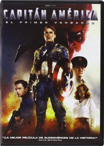 Capitán América: el primer vengador [DVD]