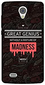 The Racoon Lean Red Madness Genius hard plastic printed back case/cover for Vivo Y21