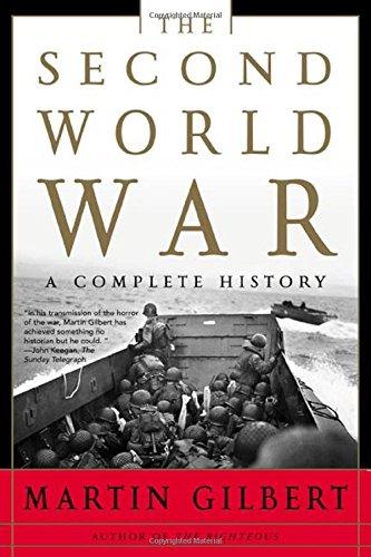 The Second World War: A Complete History, Gilbert, Martin