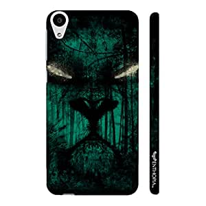 HTC Desire 728 Scary eyes designer mobile hard shell case by Enthopia