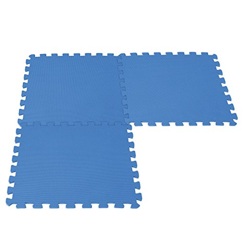 Intex 29081 - Protector de suelo, 50 x 50 x 1 cm, 8 piezas
