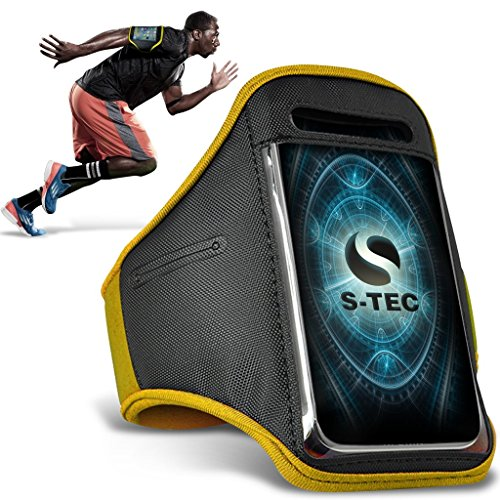 videocon-vstyle-smart-armbands-yellow-universal-sports-running-action-mobile-phone-armband-holder-vs