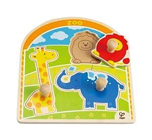 Hape - At The Zoo Knob Puzzle