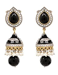 Akshim Multicolour Alloy Earrings For Women - B00NPYBN86