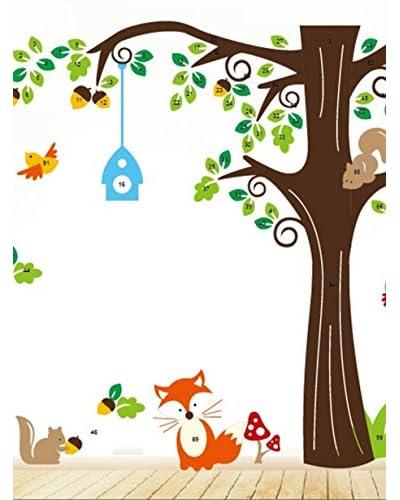 Ambiance Sticker Vinile Adesivo Animali Multicolore