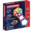 Magformers Rainbow 62-Piece Magnetic Construction Set
