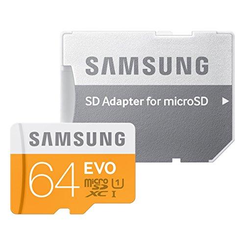 Samsung microSDXCカード 64GB EVO Class10 UHS-I対応 (最大転送速度48MB/s) MB-MP64DA/FFP