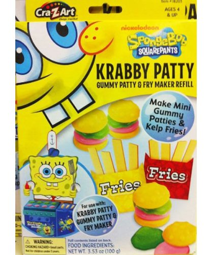 Very Cheap Easy Bake Oven Spongebob Squarepants Krabby Patty Gummy