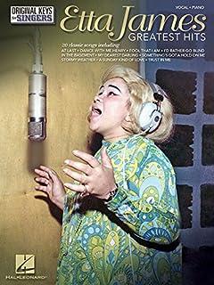 Book Cover: Etta James: Greatest Hits - Original Keys for Singers