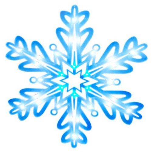 Noma/Inliten-Import V20866 Led Wind Snowflake