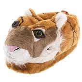 Orange Tiger Animal Slippers for Women and Men