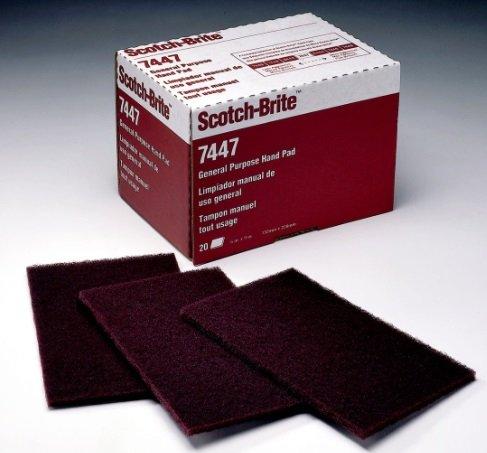 lot-of-5-red-3m-scuff-pads-scotch-brite-3m-brand
