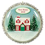 "Hallmark Keepsake 2016 ""New Home"" Dated Holiday Ornament"