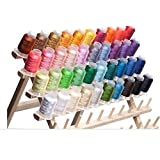 40 Spools Polyester Embroidery Machine Thread (Color: assorted colors)