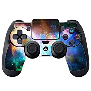 Colorful Galaxy PS4 DualShock4 Controller Vinyl Decal Sticker Skin by Demon Decal