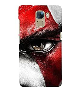 Serious Man 3D Hard Polycarbonate Designer Back Case Cover for Huawei Honor 7