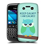 Head Case Designs Green Wing Mean Owl Protective Snap-on Hard Back Case Cover for BlackBerry Bold 9790