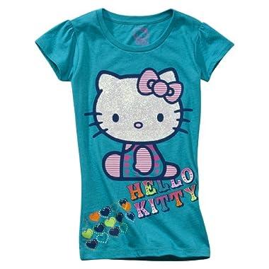 Blue Hello Kitty Shirt
