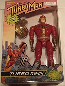 "Deluxe 13 /12"" Talking Turbo Man"