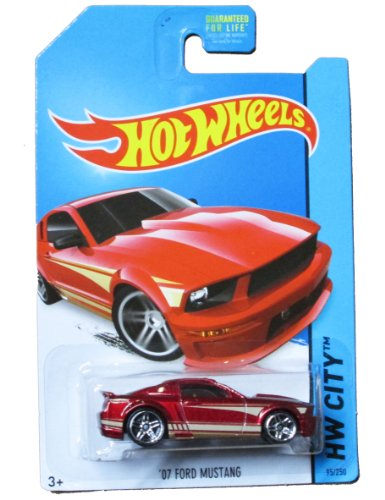 Hot Wheels HW City - 95/250 - '07 Ford Mustang