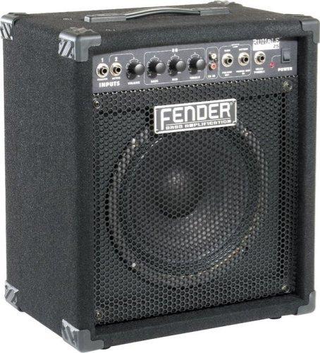 """Студийное записывающее оборудование Fender® Rumble™ 25 Bass Combo Amplifier - 1x10"""", 25-watt"""