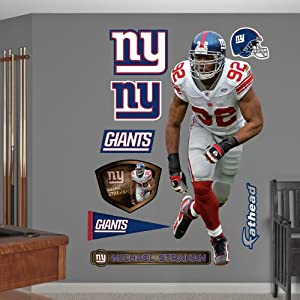 NFL New York Giants Michael Strahan Defensive End Wall Graphics by Fathead