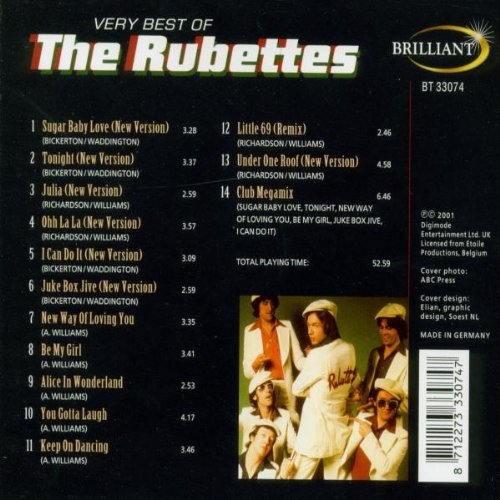 Very Best Of Rubettes