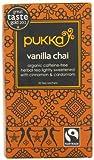 Pukka Herbs Organic Vanilla Spice Chai Tea - Pack of 20 Sachets